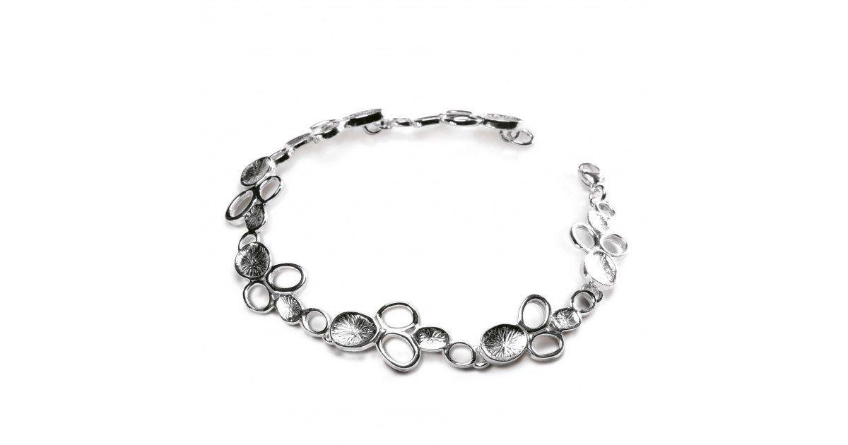 Bracelet Wolffia argent