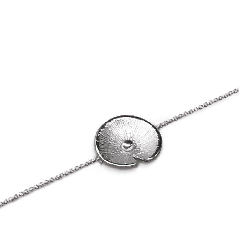 Bracelet Pusili Nénuphar argent