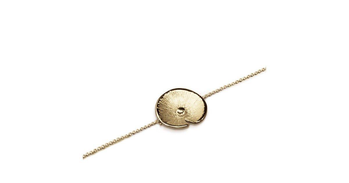 Bracelet Pusili Nénuphar vermeil