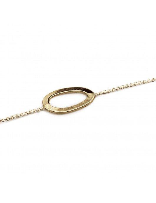 Bracelet Pusili Pax grand vermeil