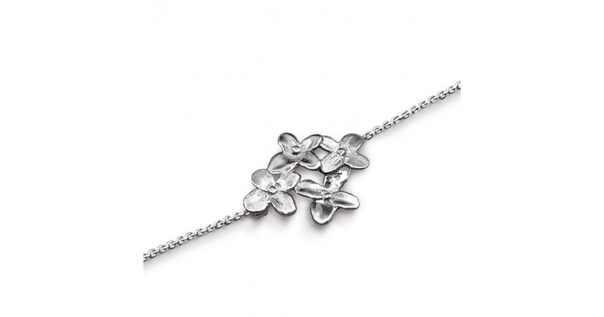 Bracelet Pusili Hisakura argent