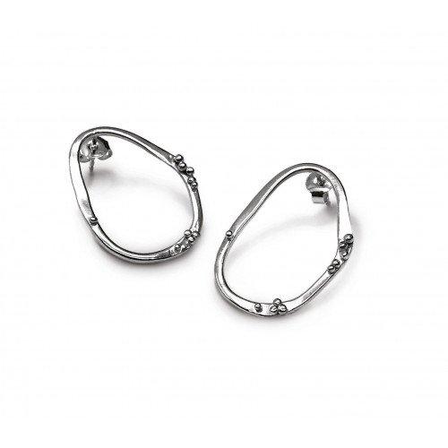 Boucles d'oreilles Envy medium argent