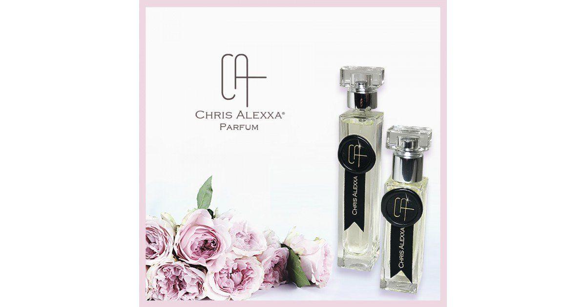 parfum 2 flacons + roses