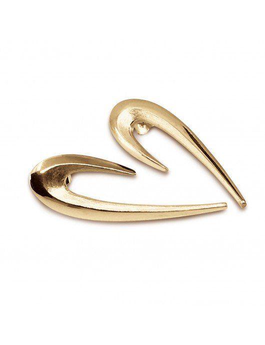 Boucles d'oreilles Delphia vermeil