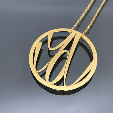 Pendentif You Chris Alexxa or 18Kt