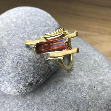 Bague Ramus Tourmaline or Chris Alexxa