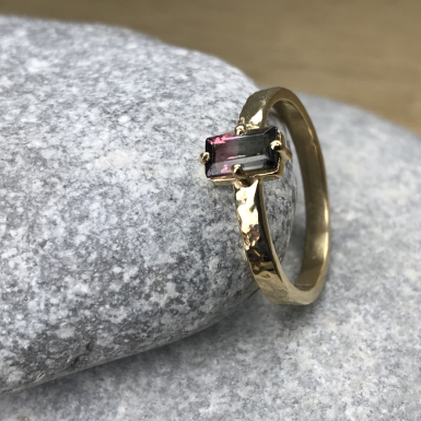 Bague Tourmaline melon Chris Alexxa