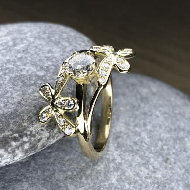 Bague Dhali diamants or 18ct
