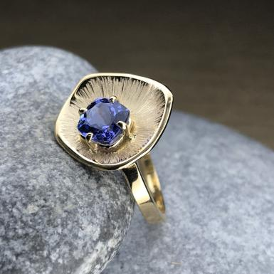 bague Tanzanite Chris Alexxa