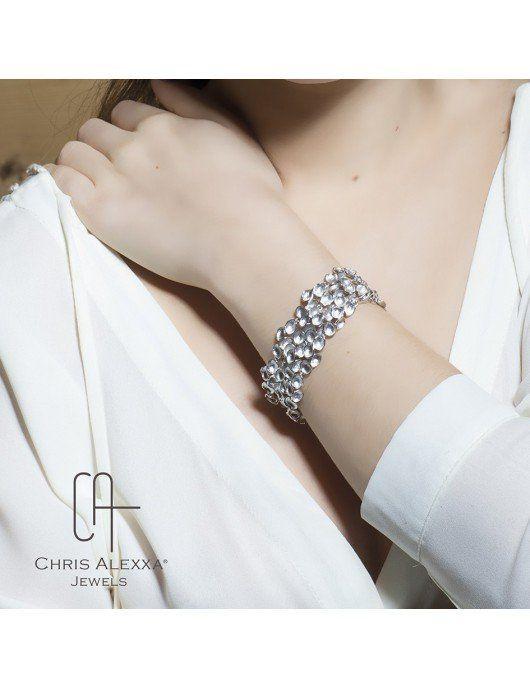 bracelet Pollen Chris Alexxa porté