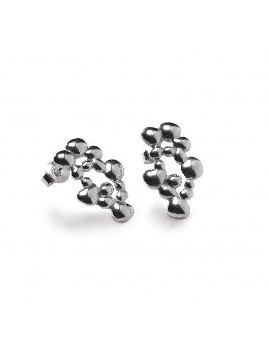 Boucles d'oreilles Dhali Chris Alexxa petit modèle