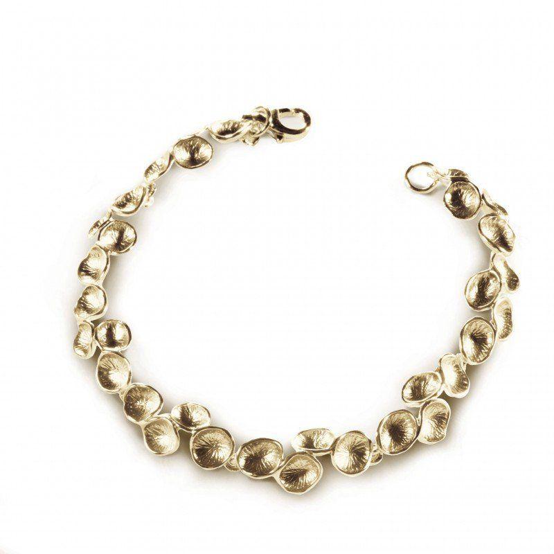 bracelet Pollen Chris Alexxa vermeil
