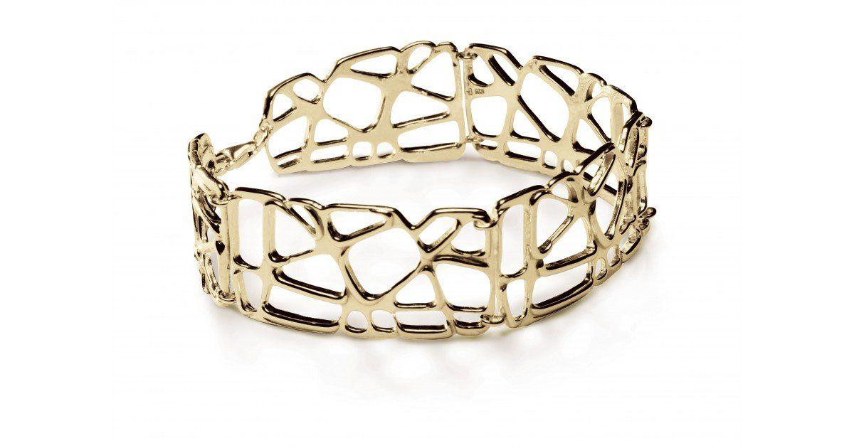 Bracelet Lotus Chris Alexxa vermeil