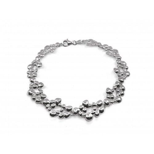 Bracelet Dhali argent