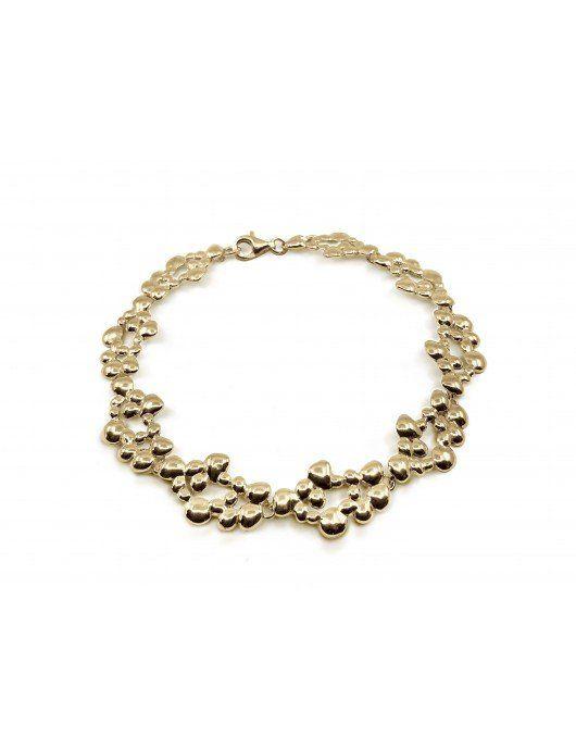Bracelet Dhali vermeil