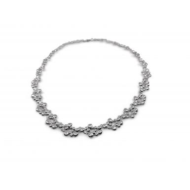 Collier Dhali argent